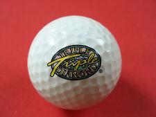 Pelota de golf con logo-triple Diamond-golf logotipo pelota como recuerdo amuleto
