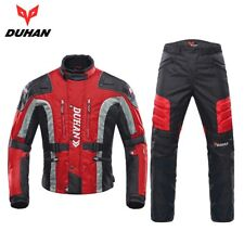 DUHAN Autumn Winter Cold-proof Motorcycle Jacket Protector Pant Touring Clothing
