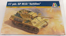 Italeri 1/35 Achilles M10 Tank Destoyer W/ 17 Pdr Gun Model Kit 6485