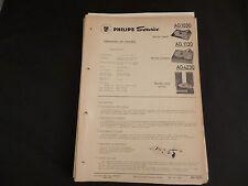 Original Service Manual Philips AG1030 AG1130 AG 4230