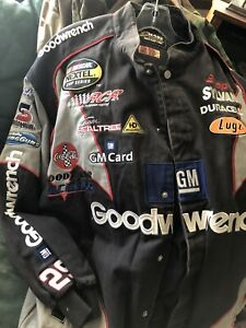 Vintage NASCAR Chase Authentics Kevin Harvick 29 GOODWRENCH Racing Jacket XL