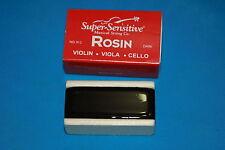 Super Sensitive No. 912 Dark Rosin for Violin, Viola, Cello Bows