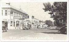 1940's Victorville, California - REAL PHOTO D Street, Theater, San Bernardino Co