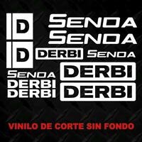 Kit Adhesivos DERBI SENDA. sticker decal autocollant, adesivi, pegatina
