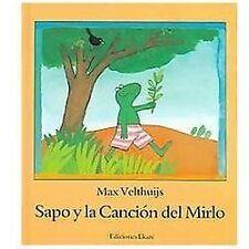 Sapo Y La Cancion Del Mirlo (Spanish Edition)-ExLibrary
