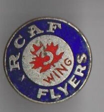 1968 German Hockey Pins.  RCAF Flyers & WIKI Hockey Clubs + Letter + Envelope