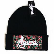 Agora Custom Floral Beanie Hat snapback 5 panel taureaux nouveau
