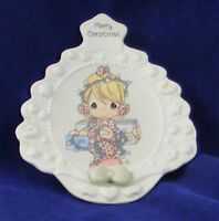 PRECIOUS MOMENTS CHRISTMAS DISH MARKED & DATED 1995