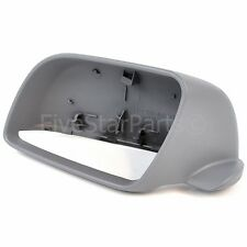 Passenger side LHS primed wing mirror cover for Volkswagen Polo 2002-2005 casing