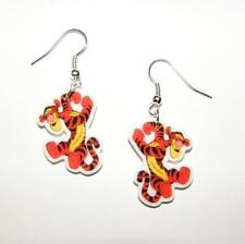 Winnie the Pooh Bouncing Tigger Hand crafted Earrings.