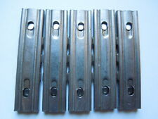 5 Original WW2 German 8mm Mauser Chrome Stripper Clips NEW UN-ISSUED CONDITION