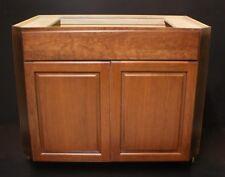 """Kraftmad Praline w/ Glaze Cherry Kitchen / Bathroom Vanity Sink Base Cabinet 42"""""""