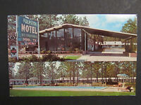 1973 Postcard Folkston Motel Georgia U.S. Highway 23 and 301