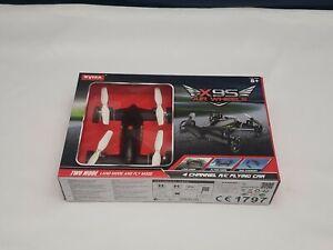 Syma X9S: 2.4G/4CH  RC Flying Car Remote Control Quadcopter  (X000WOAEFL) Black