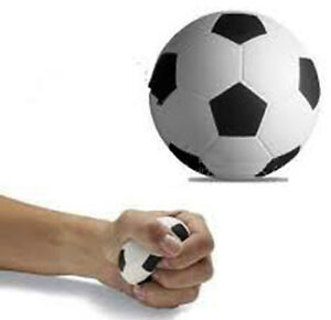 FOOTBALL SHAPED ANTI-STRESS RELIEVER  STRESS BALL PHYSIO SPORTS ARTHRITIS STROKE