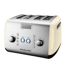 KitchenAid Artisan KMT423 4 Slice Wide-Slot Toaster - Almond Cream