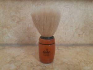 Omega Shaving brush with pure bristles wood  handle penne famoso