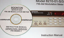 Boonton 8210-01-S/3 Instruction Manual (Ops & Service)