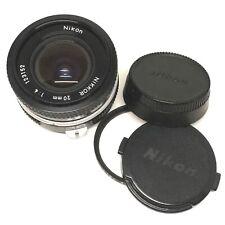 Nikon F Japan Nikkor 20mm f/4 Manual Focus Wide Angle Camera Lens OFFER
