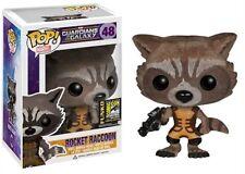 Rocket Raccoon SDCC Exclusive Guardians of Galaxy POP! Marvel #48 Figur Funko
