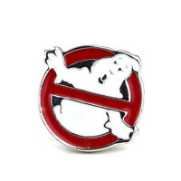 Ghost Busters Logo Badge Brooches Vintage Punk Enamel Pins Lapel Bag Accessories