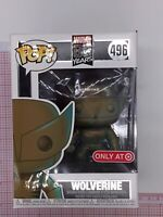 Funko Pop! Marvel 80th Wolverine Patina #496 Target Exclusive NOT MINT INSERT E2