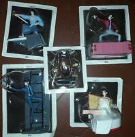 Lupin 3rd Figures play set 3 5pz lupin Goemon Jigen Fujiko Zenigata Hobby & Work