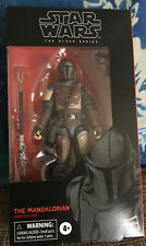 "Hasbro Star Wars Black Series The Mandalorian 6"" Action Figure"