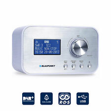 BLAUPUNKT Radiowecker Digital Radio DAB+ Uhrenradio USB Ladefunktion Dual Alarm