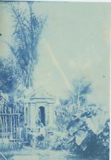 Madagascar pendant la colonisation française  Vintage print. cyanotype  12x1