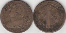 Monnaie Française 2 Sols Louis XVI constitution 1792 BB
