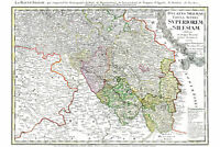 Map of Upper Silesia; Antique Map by Homann, 1746; Custom Printed