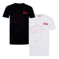 Mens Star Wars The Last Jedi KYLO OUTLINE T-Shirt Licensed