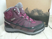 Salomon Boots Ankle Boots Kaina Cs Wp Red 390592 New