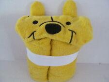Hooded Towel Disney Winnie The Pooh Kids Baby Toddler Beach Bath Pool Hood NEW