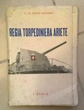 REGIA TORPEDINIERA ARIETE DE  GROSSI MAZZORIN