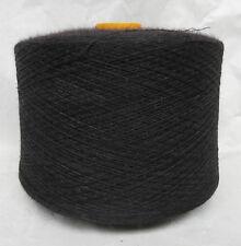 0844-34f) Nm 32/2 100% Merinowolle ANTHRAZIT2 Maschinenstricken Garn Wolle Weben