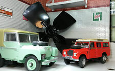 Land Rover Series 1 2 2a 2b Rectangular Round Smiths Heater OEM Fan Blower