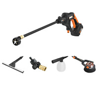 WORX WO7074 20V Power Share Hydroshot Portable Power Cleaner w/ Cleaning Bundle!