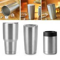 Vacuum Double Wall 12/20/30OZ Travel Cup Stainless Steel Cold Keeper Mug