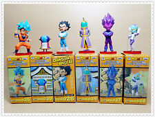 "LOT of 6  banpresto DragonBall Z DBZ  goku vegeta Zen'ō Jaco figure 2""-3"" NEW"