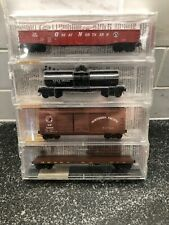 Micro Trains Line BN Merger Pack (NP, GN, SPS, CB & Q) Set of 4 Cars