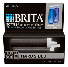 New! BRITA 35818 WATER BOTTLE REPLACEMENT FILTERS FITS HARD-SIDED & SPORT 2 PACK