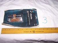 "2 Vintage 4"" Attwood Open CHOCKS - Boat Deck Hardware Rope - Unused NOS - Lot #3"