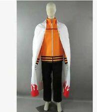 Naruto Uzumaki Seventh Hokage Halloween Set Cosplay Costume
