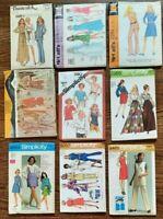 Vintage Lot (9) Patterns Size 14 - BUTTERICK MCCALLS SIMPLICITY- Uncut/FF - #21