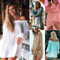 Womens Beach Wear Bikini Cover Up Beachwear Swimwear Kaftan Ladies Summer Dress