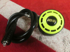SCUBA DIVING PRE-OWNED AMER-SEA SECOND STAGE OCTOPUS REGULATOR EXCELLENT!