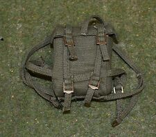 VINTAGE ACTION MAN 40th SOLDIER LOOSE COMBAT FIELD JACKET GREEN BACKPACK