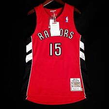 100% Authentic Vince Carter Mitchell Ness 03 04 Raptors Jersey Mens Size 40 M